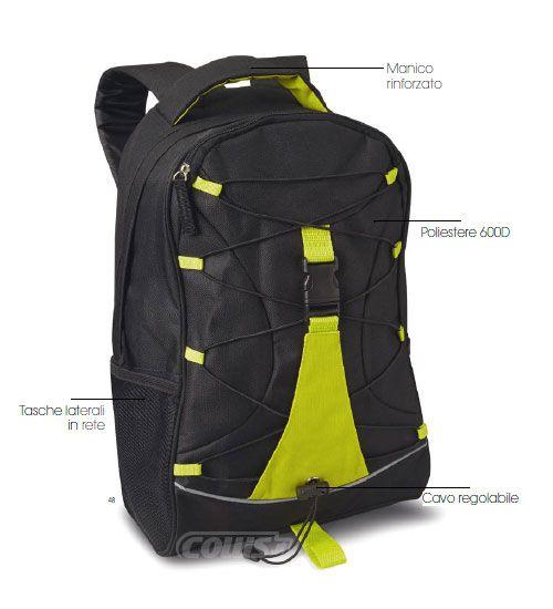 vasta selezione di 44862 77998 Zaino Sportivo - Collis Gadget Personalizzati