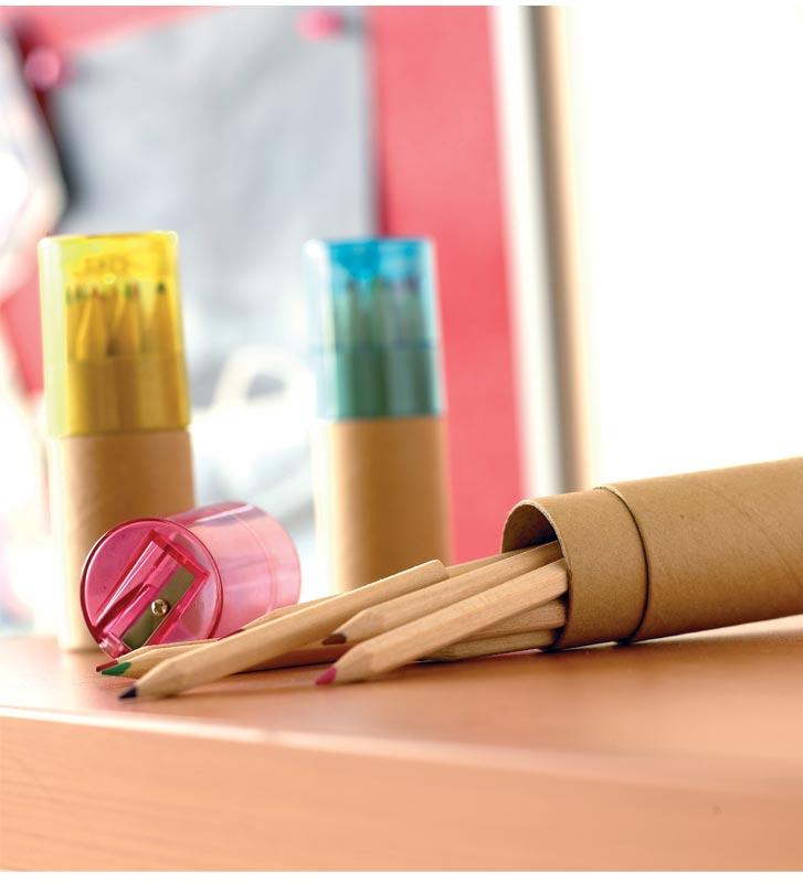 matite colorate  Matite Colorate Personalizzate | Collis Gadget