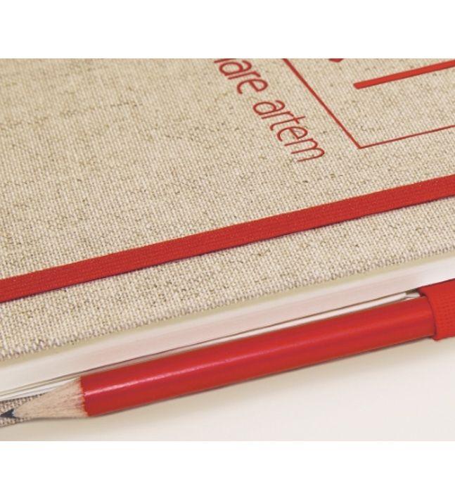BLOC NOTES COPERTINA TESSUTO - A4, A5, A6