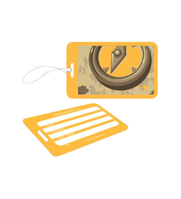 Etichette Bagaglio a carta di credito