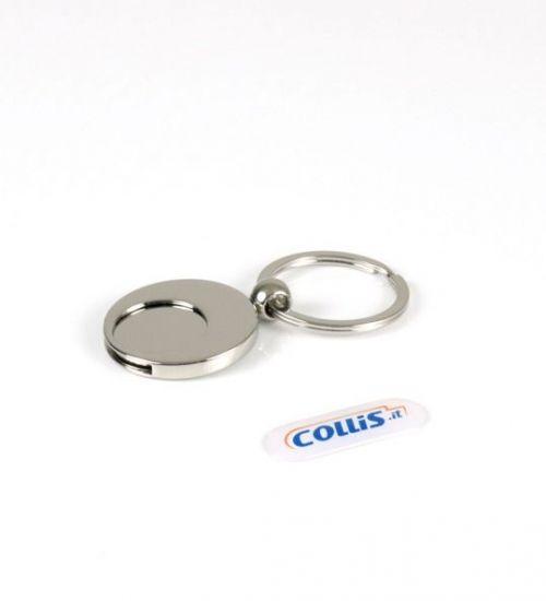 Eccezionale Portachiavi Gettone Carrello | Collis Gadget GD61