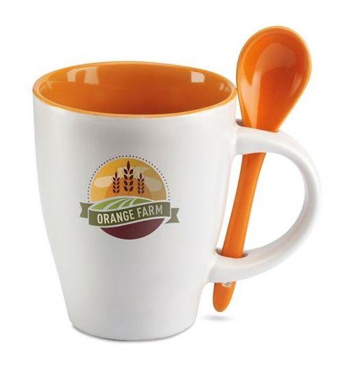 tazze con cucchiaio personalizzate