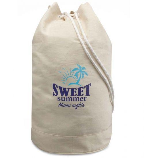 sacche cotone naturale