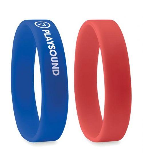 braccialetti silicone personalizzati